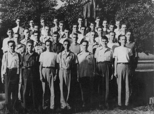 partecipanti all'esperimento 1944